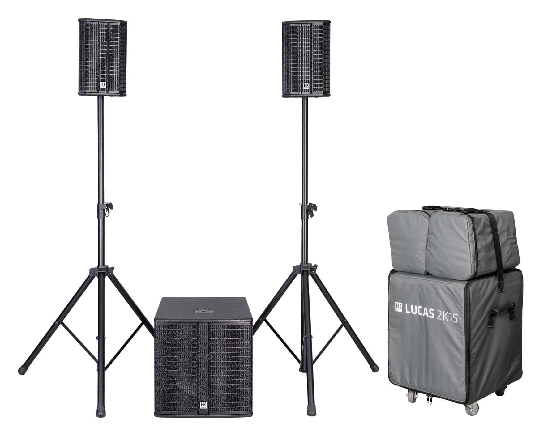Boxenkomplettanlagen - HK Audio Lucas 2K15 System Aktivanlagen Komplettset - Onlineshop Musikhaus Kirstein