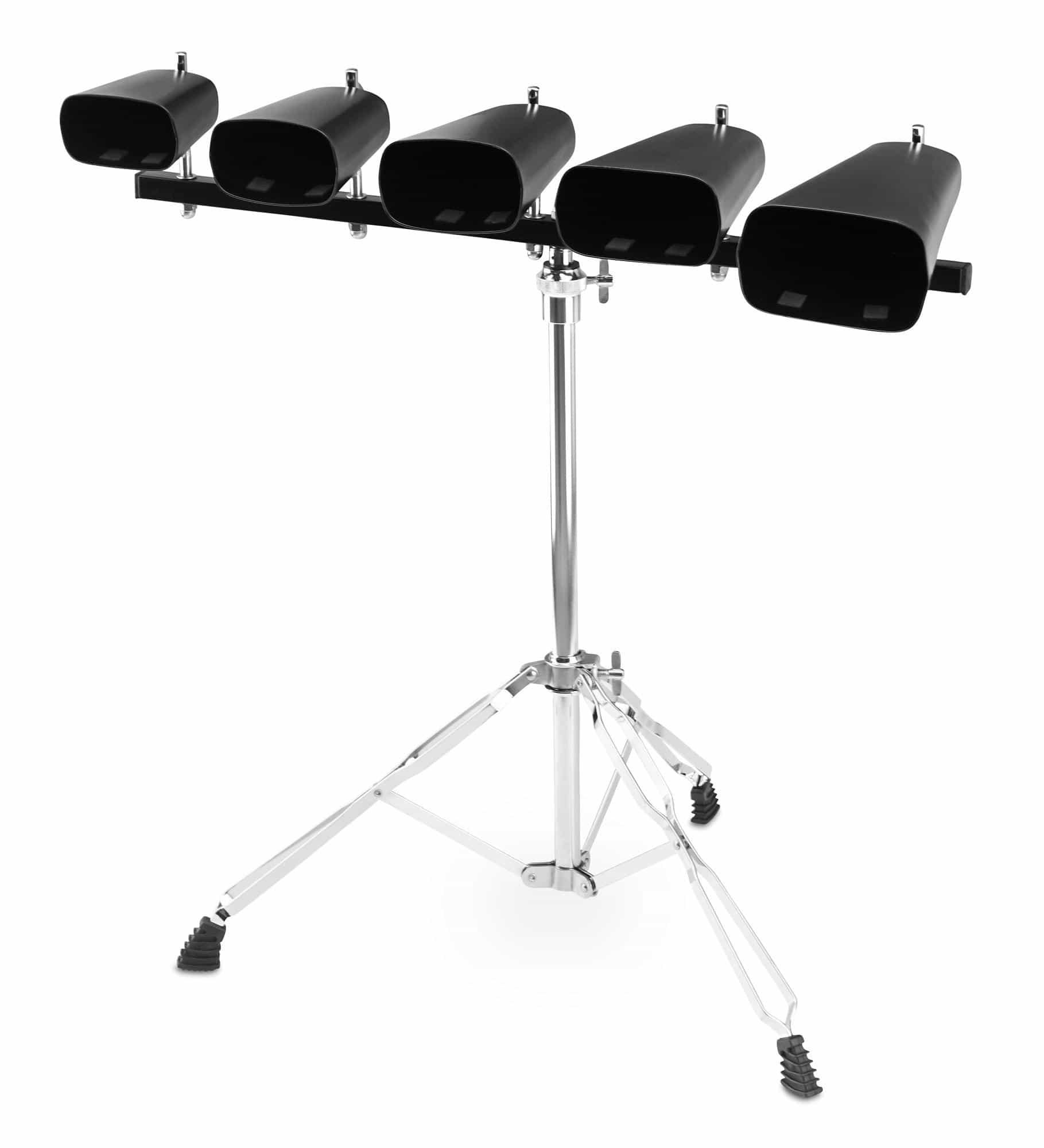 XDrum Kuhglocken Set (Cowbell) inkl. Ständer