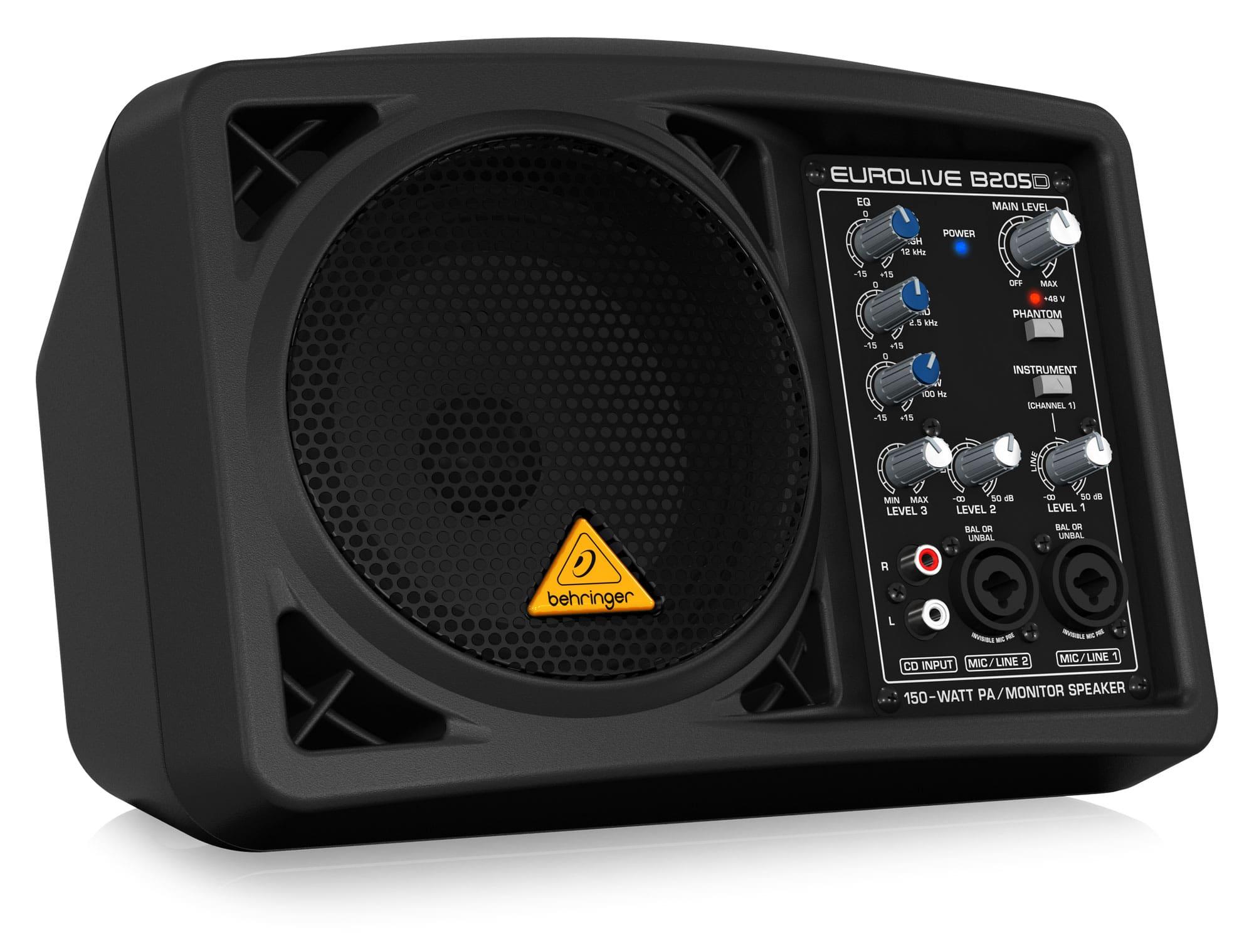 Paboxen - Behringer B205D Aktiv Monitor - Onlineshop Musikhaus Kirstein