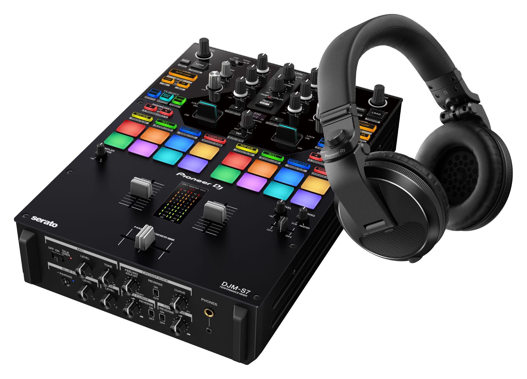 Djmixer - Pioneer DJ DJM S7 HDJ X5 K Schwarz SET - Onlineshop Musikhaus Kirstein