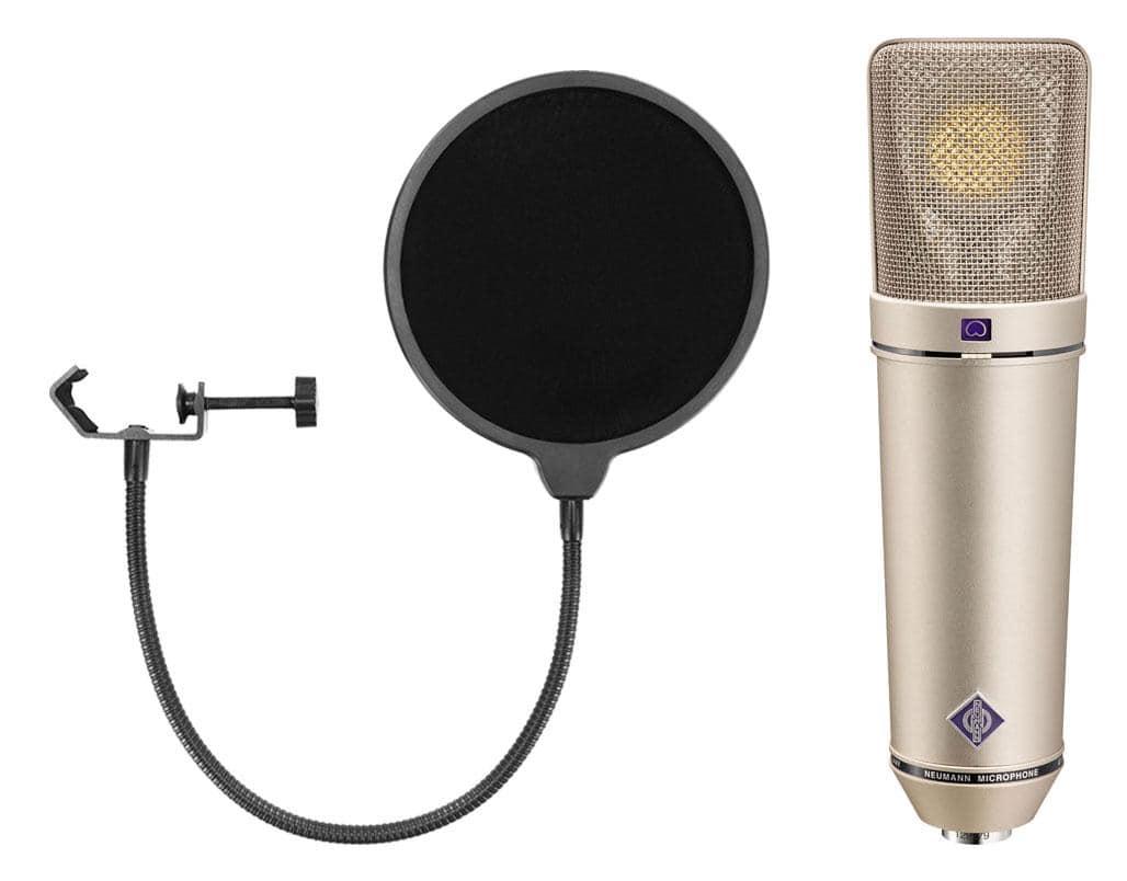 Mikrofone - Neumann U 87 Ai Studio Set inkl. Popkiller - Onlineshop Musikhaus Kirstein