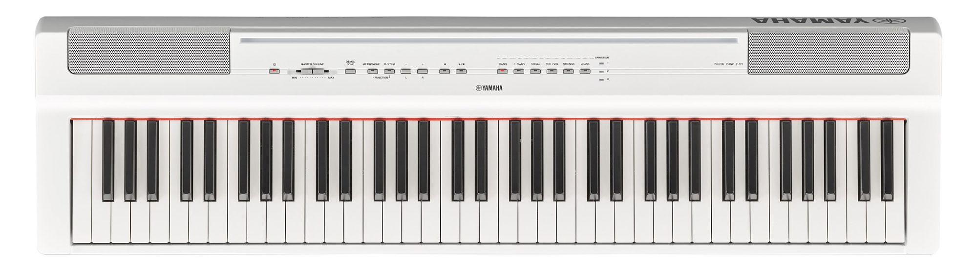 Stagepianos - Yamaha P 121WH Stage Piano Weiß - Onlineshop Musikhaus Kirstein