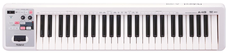 Roland A 49 W USB Midi Keyboard Controller