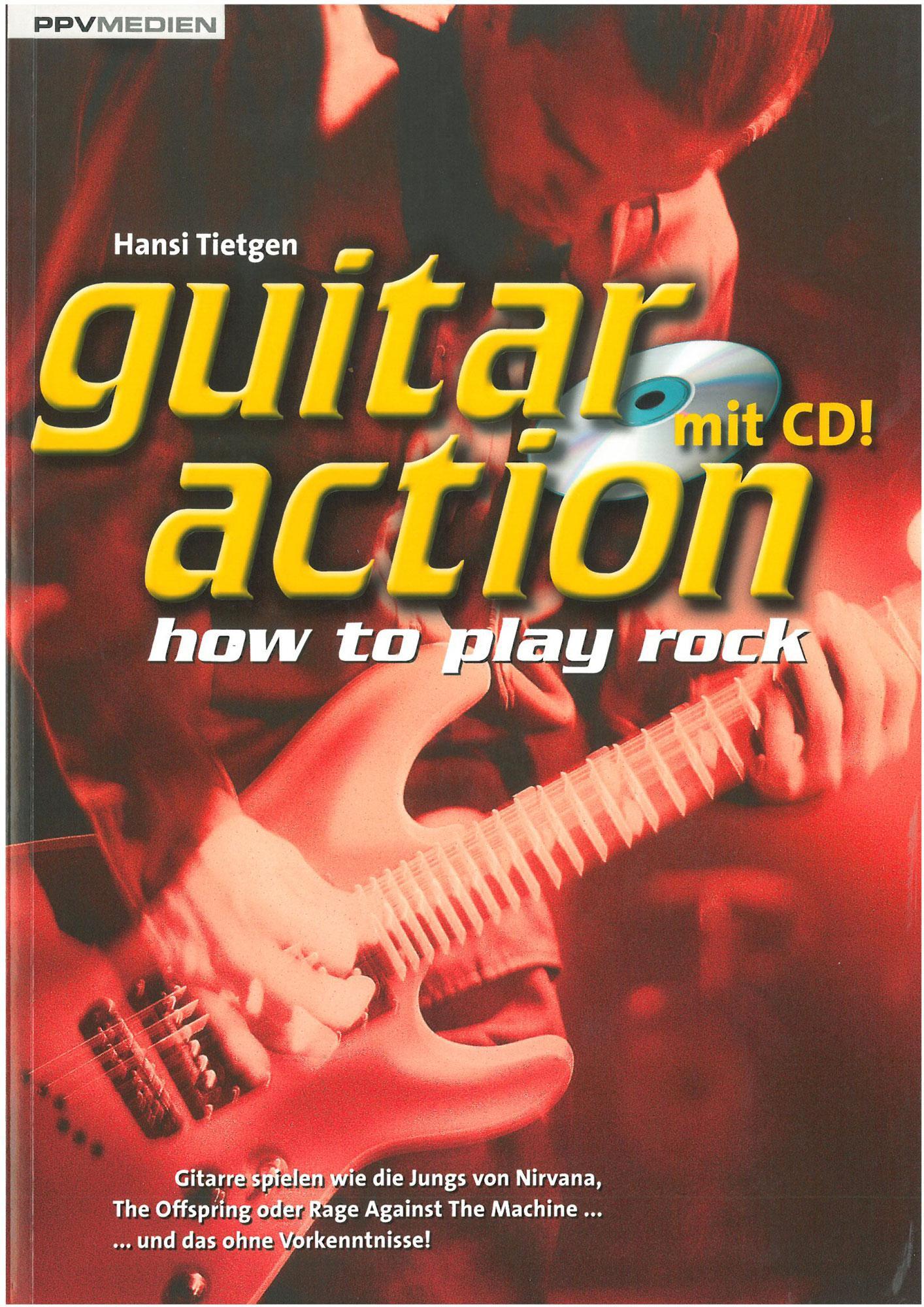 Gitarrelernen - Guitar Action mit CD - Onlineshop Musikhaus Kirstein