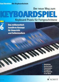 Keyboardlernen - Der neue Weg zum Keyboardspiel Band 6 - Onlineshop Musikhaus Kirstein