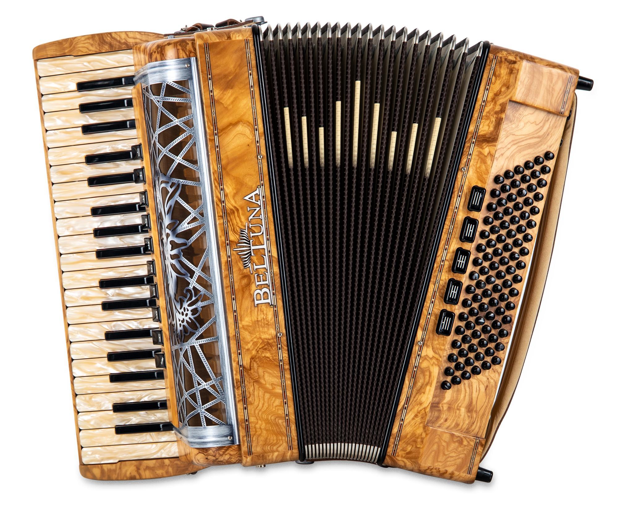 Akkordeons - Beltuna Alpstar IV 96 M Hel.|Reg. Olivesche - Onlineshop Musikhaus Kirstein