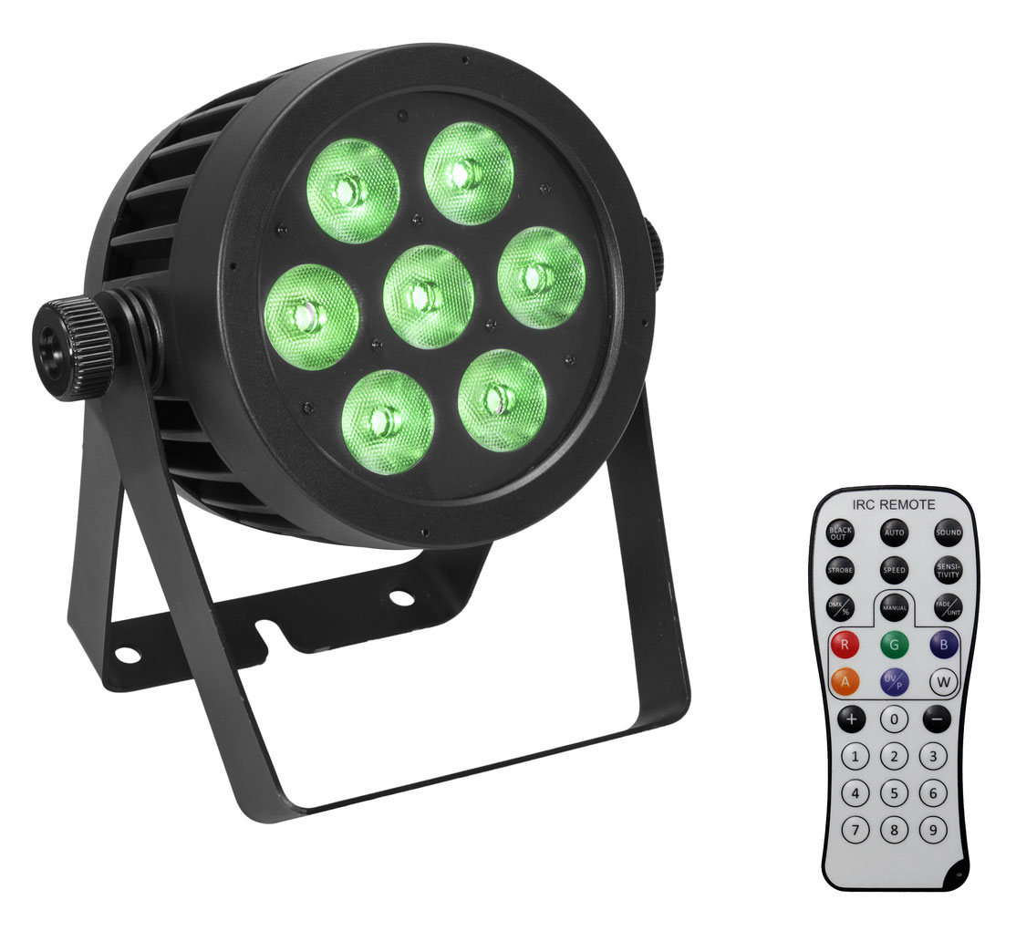 Scheinwerfer - Eurolite LED IP PAR 7x8W QCL Spot - Onlineshop Musikhaus Kirstein