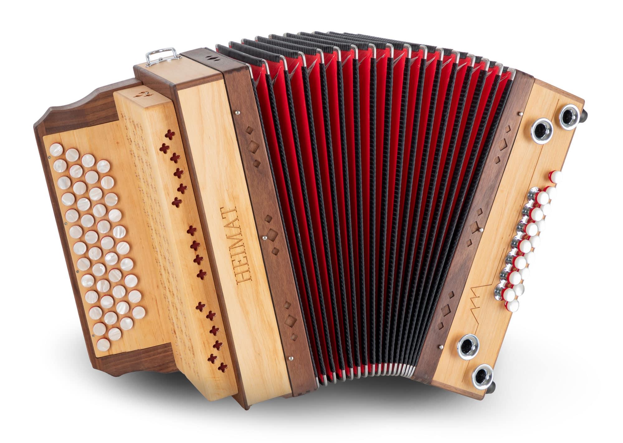 Akkordeons - Heimat 4|III Harmonika G C F B MB Erle - Onlineshop Musikhaus Kirstein