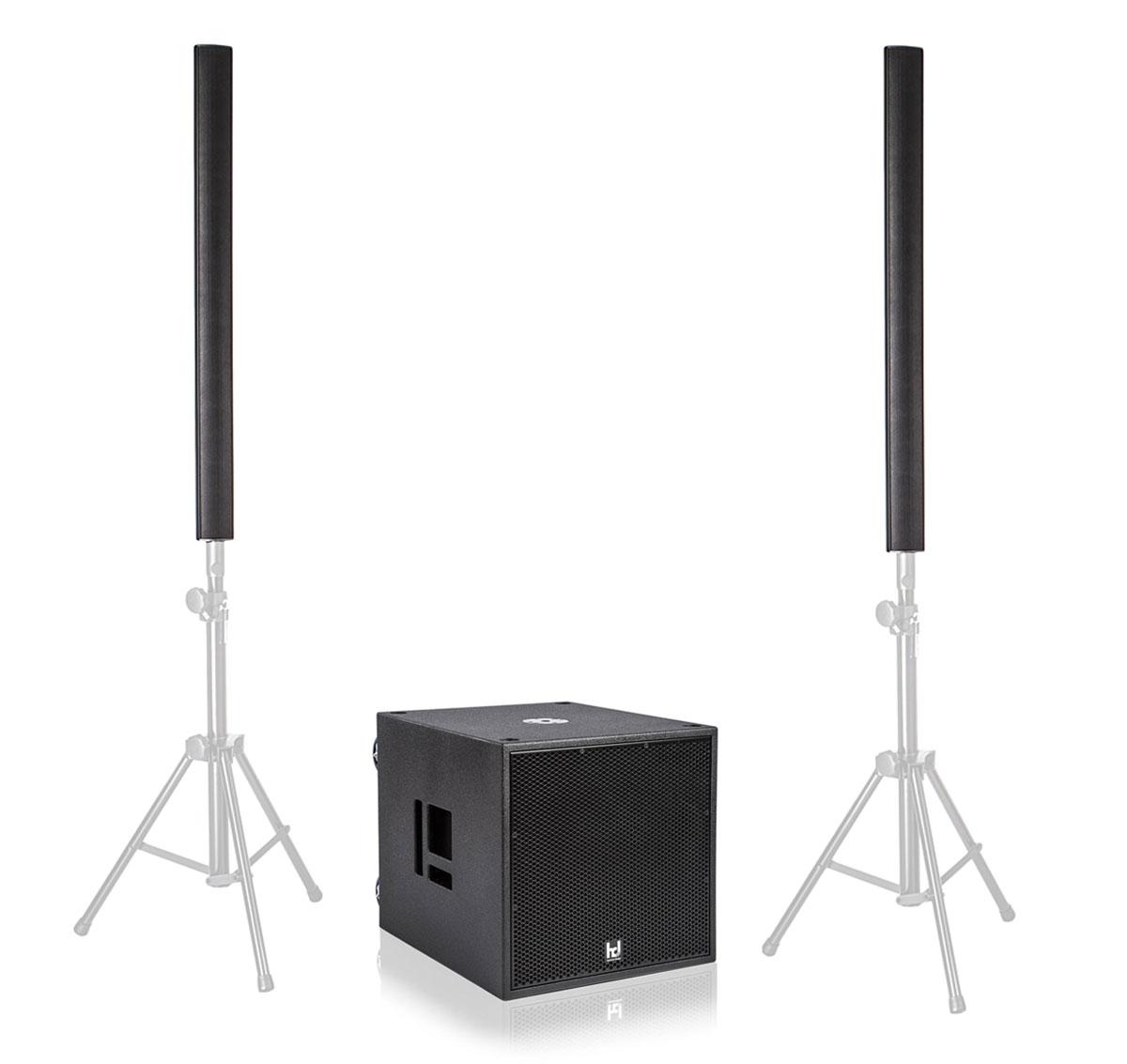 Harmonic Design PL16|P18 Basis Multi DSP Aktivsystem Aussteller (Zustand sehr gut)