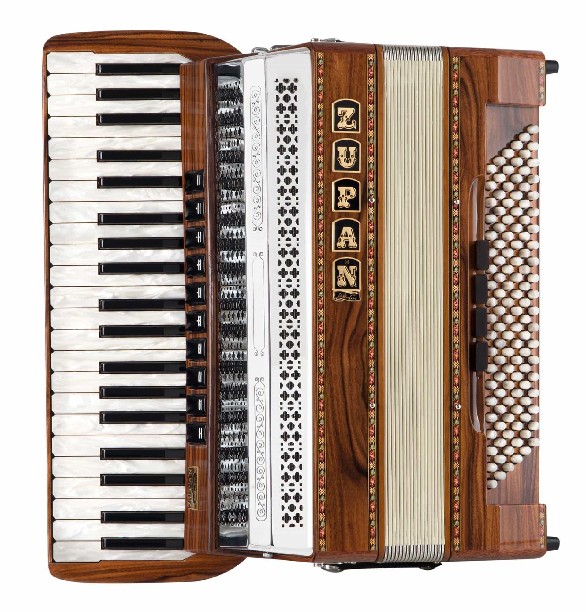 Akkordeons - Zupan Eco IV 120|M Akkordeon Palisander Aussteller (Zustand sehr gut) - Onlineshop Musikhaus Kirstein