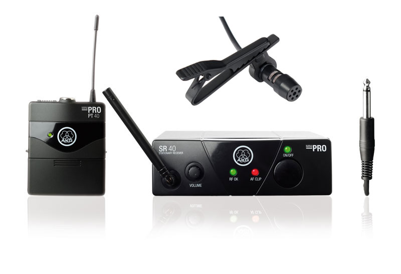 AKG WMS 40 Mini Presenter Komplettset 2, inkl. Lavalier Mikrofon