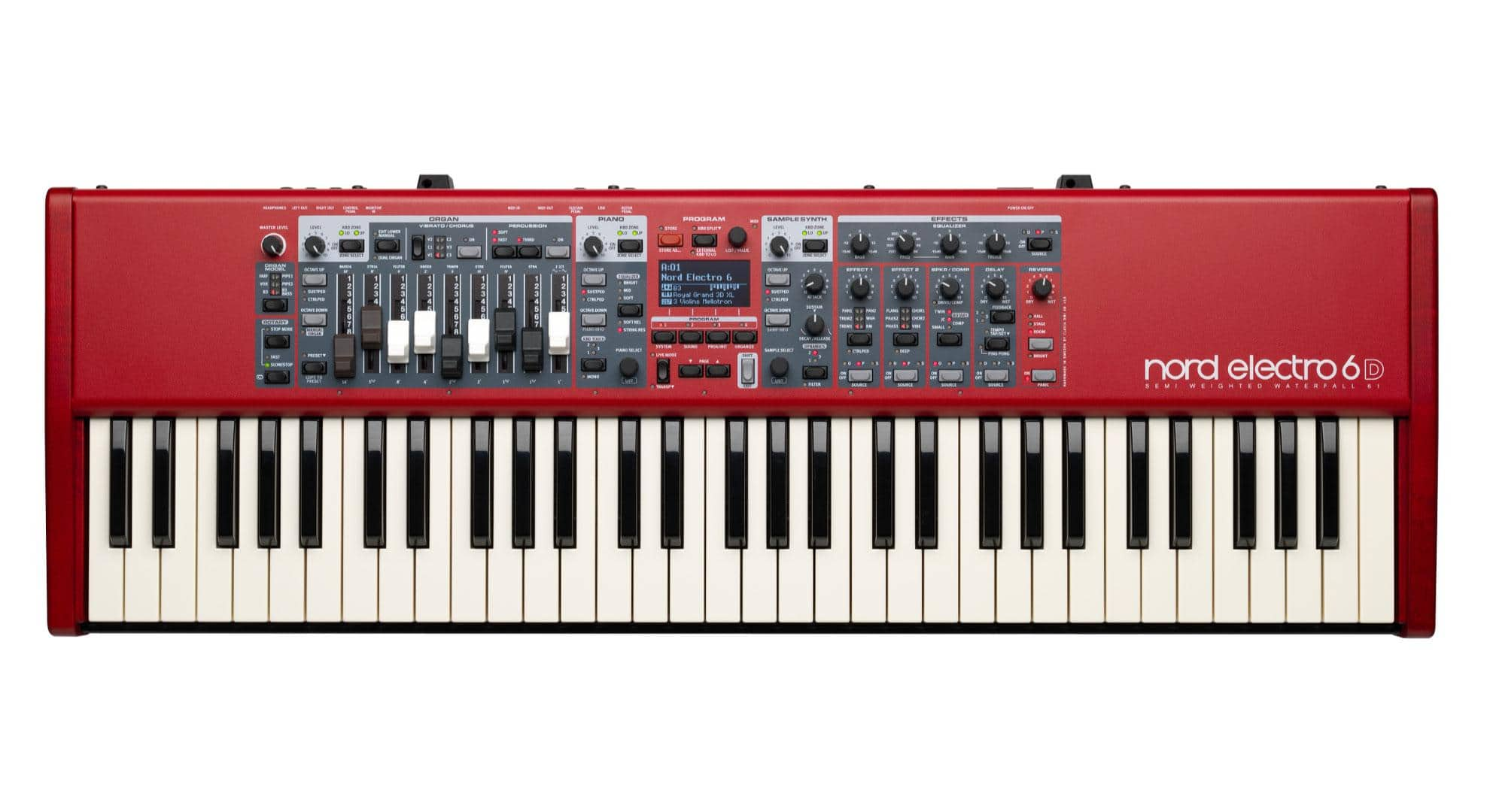 Stagepianos - Clavia Nord Electro 6D 61 - Onlineshop Musikhaus Kirstein