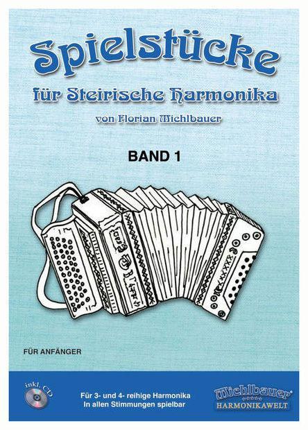Akkordeonlernen - Michlbauer Spielstücke für Steirische I CD MICHLBAUER EC3024 - Onlineshop Musikhaus Kirstein