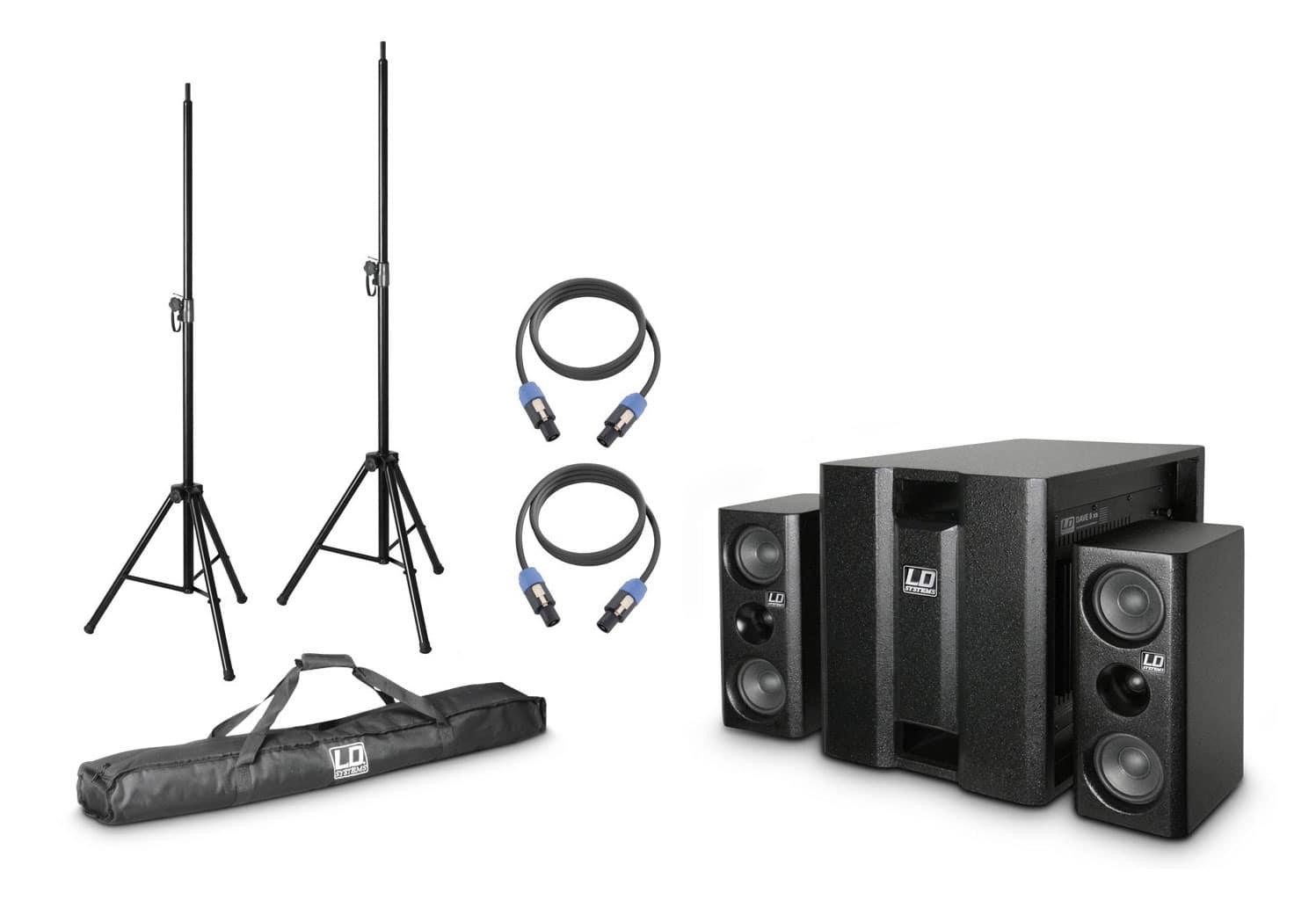 Boxenkomplettanlagen - LD Systems DAVE 8 XS Lautsprechersystem Set - Onlineshop Musikhaus Kirstein