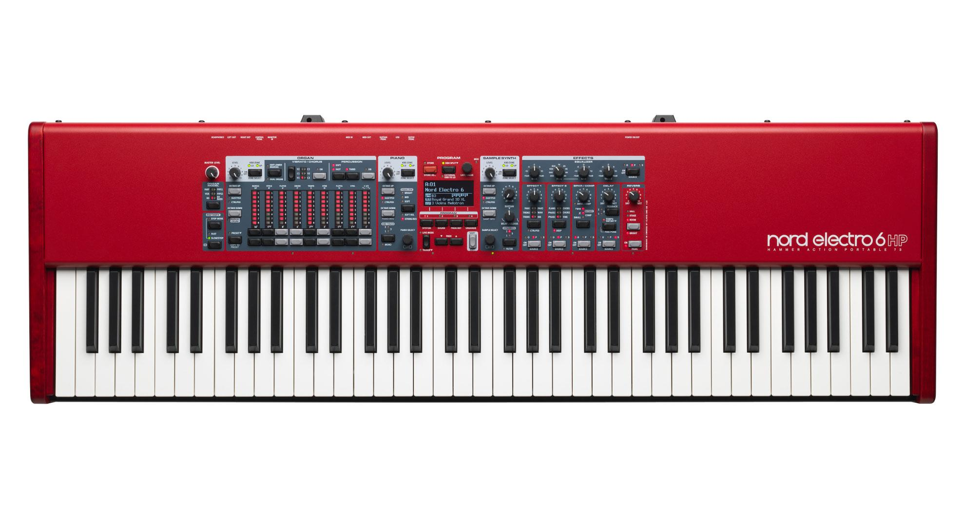 Stagepianos - Clavia Nord Electro 6 HP 73 - Onlineshop Musikhaus Kirstein