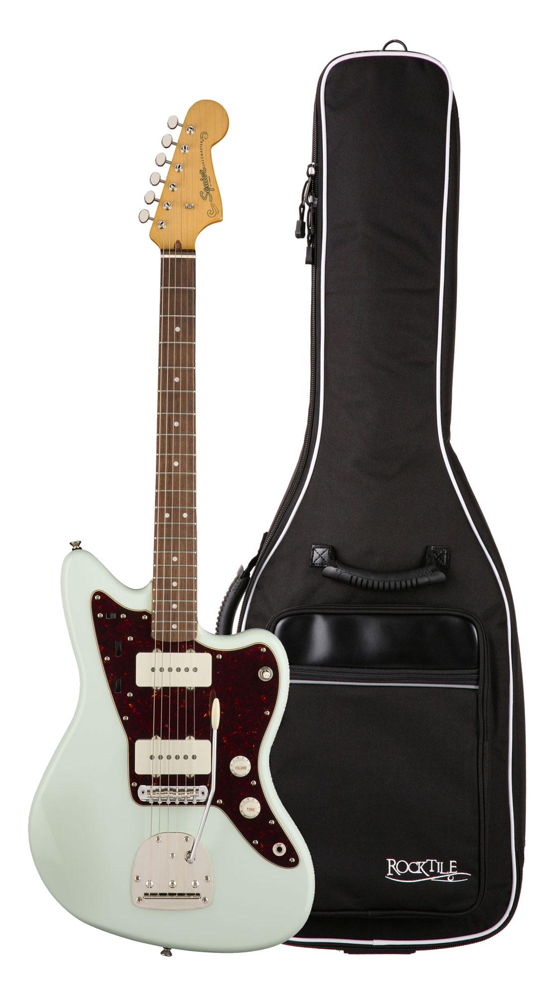 Egitarren - Fender Squier Classic Vibe '60s Jazzmaster LRL SNB Gigbag Set - Onlineshop Musikhaus Kirstein