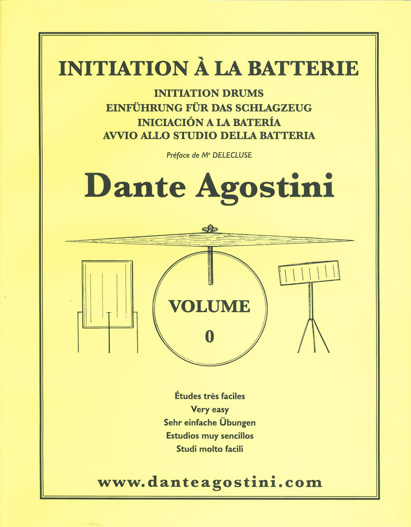 Initiation à la Batterie Volume 0