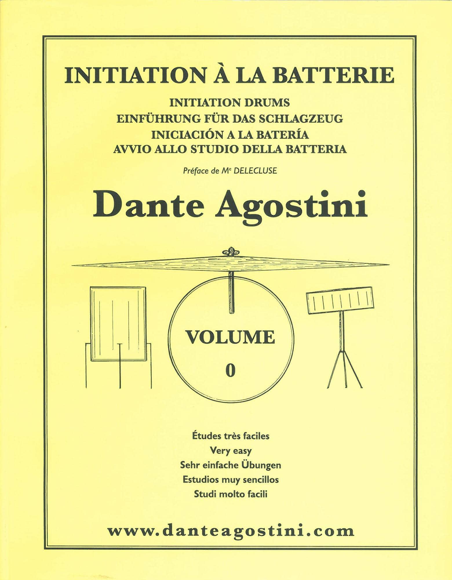 Drumslernen - Initiation à la Batterie Volume 0 - Onlineshop Musikhaus Kirstein