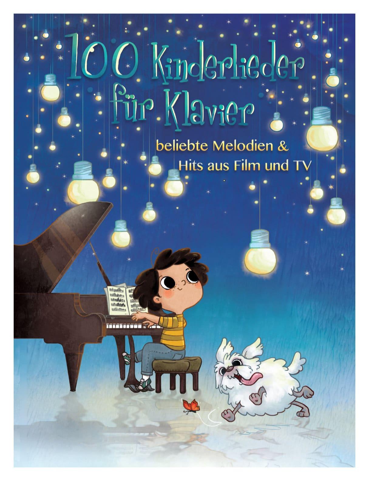 Klavierlernen - 100 Kinderlieder für Klavier - Onlineshop Musikhaus Kirstein