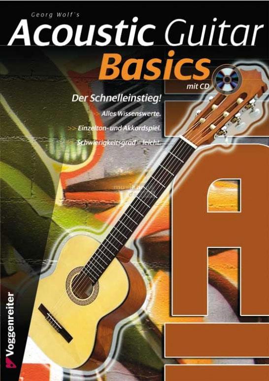 Gitarrelernen - Acoustic Guitar Basics CD - Onlineshop Musikhaus Kirstein