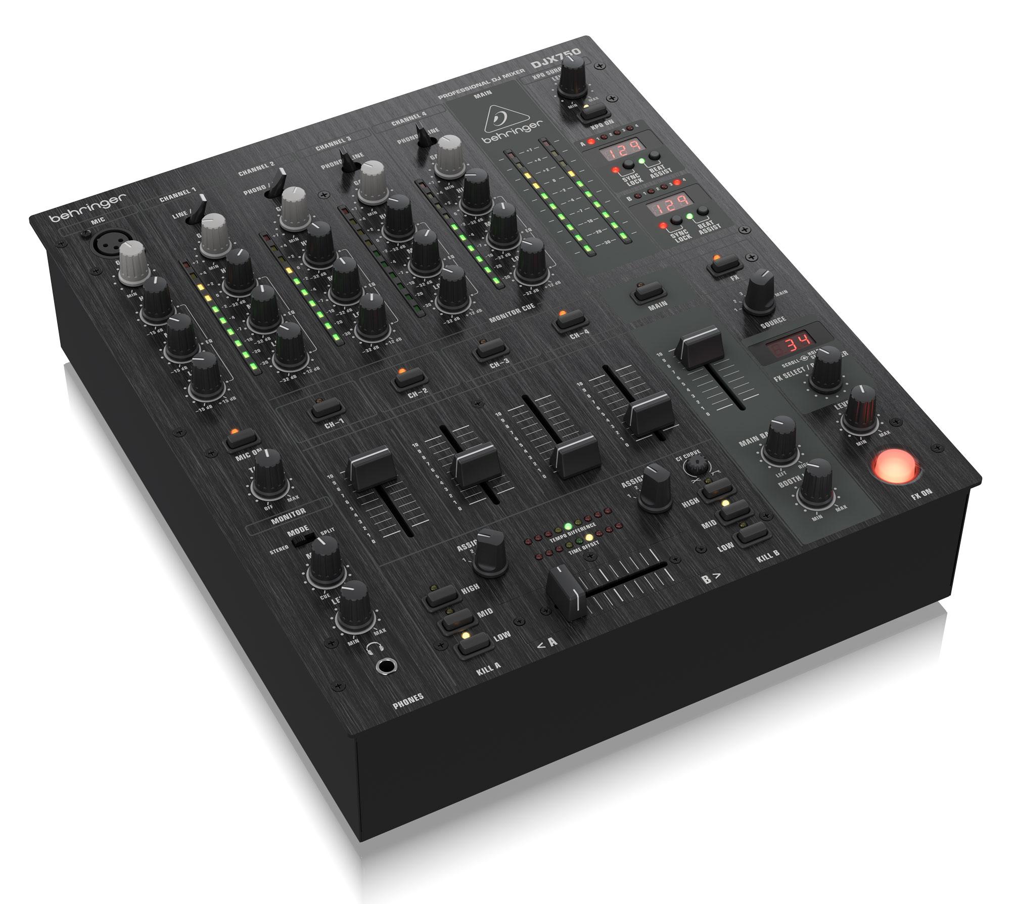 Djmixer - Behringer DJX750 DJ Mixer - Onlineshop Musikhaus Kirstein