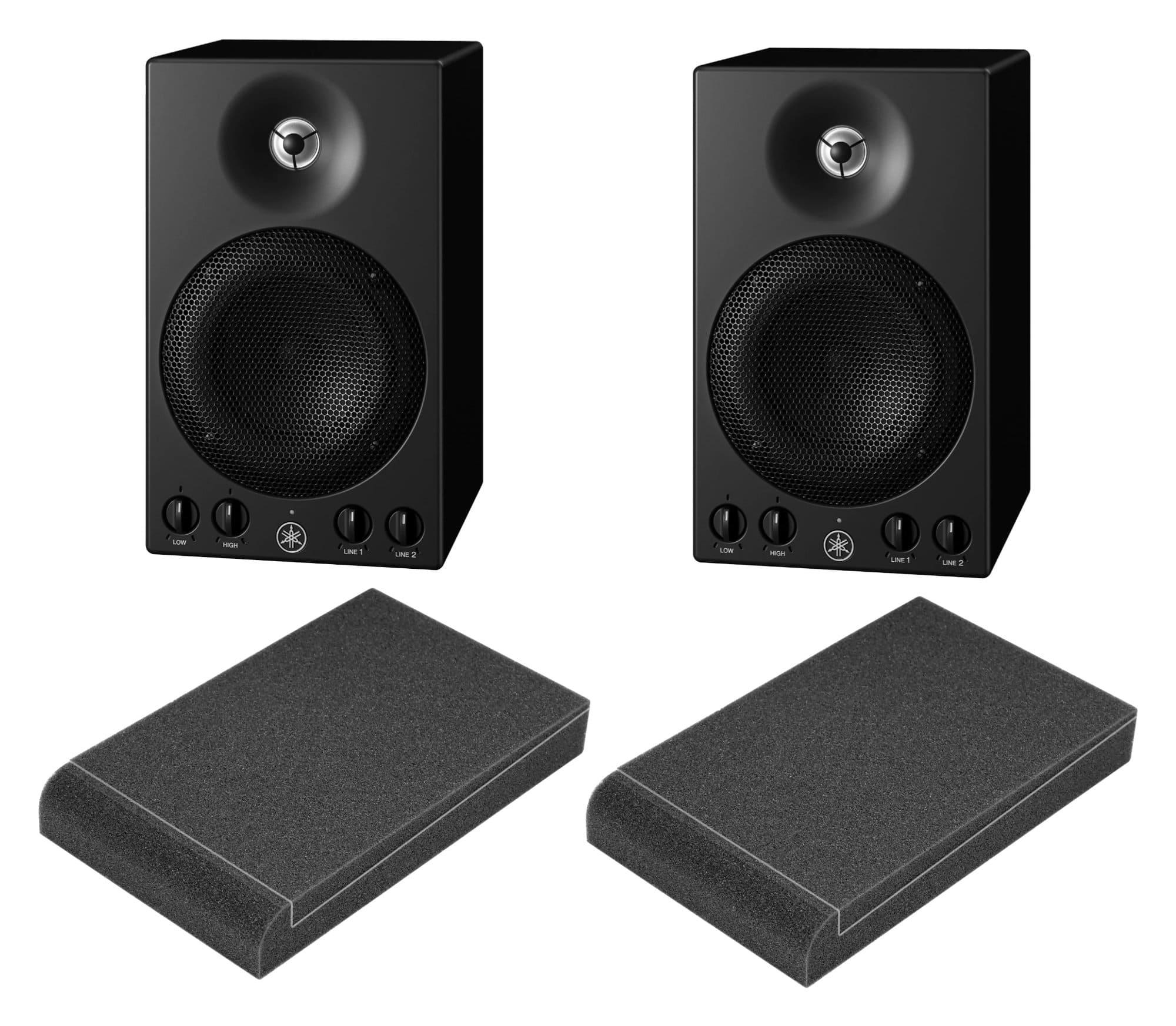 Studiomonitore - Yamaha MSP3A Aktiver Studiomonitor ISO Set - Onlineshop Musikhaus Kirstein