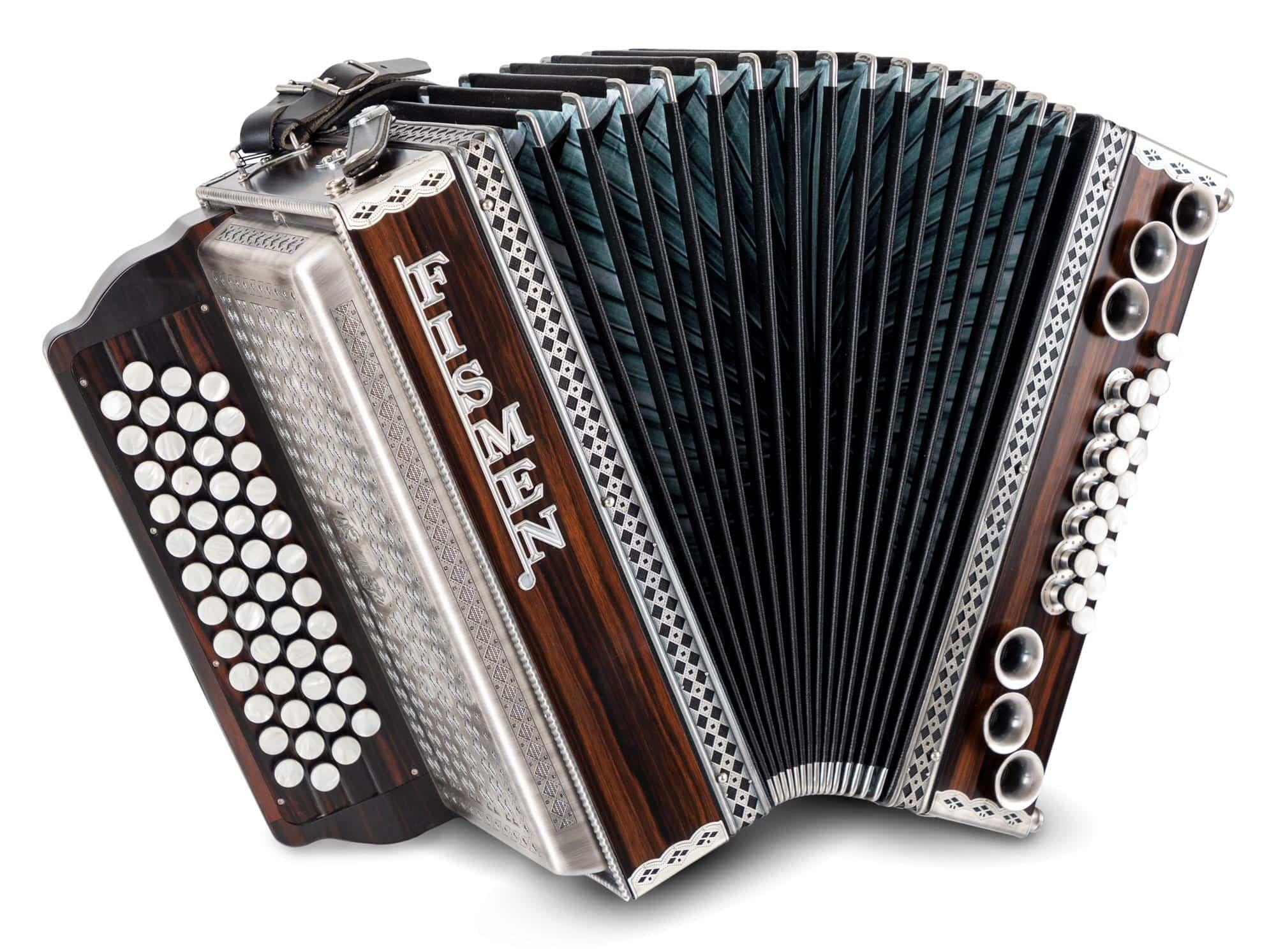 Akkordeons - Fismen AlpLine 34 Harmonika Ebenholz - Onlineshop Musikhaus Kirstein