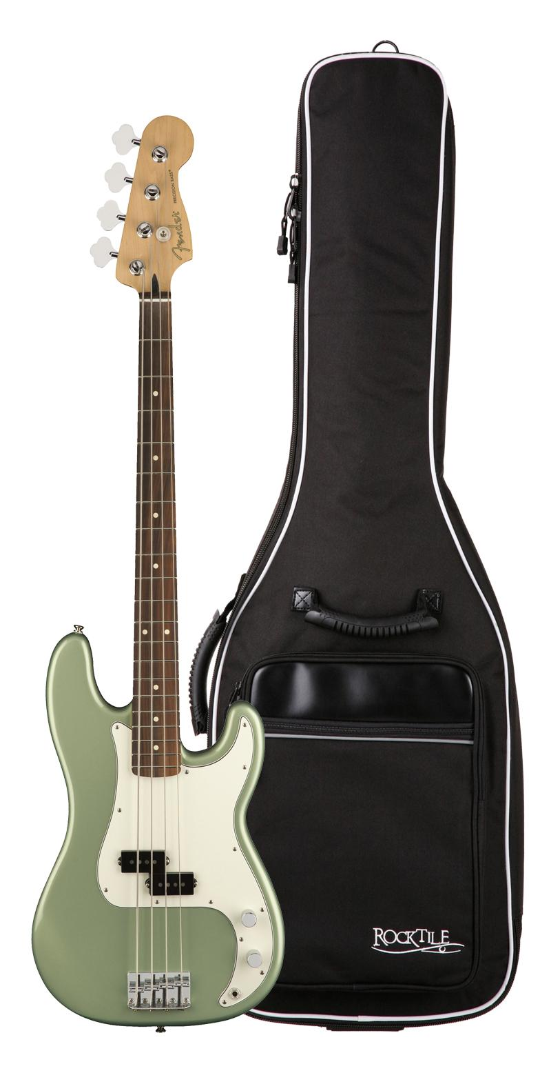 Fender Player Precision Bass PF SGM Gigbag Set