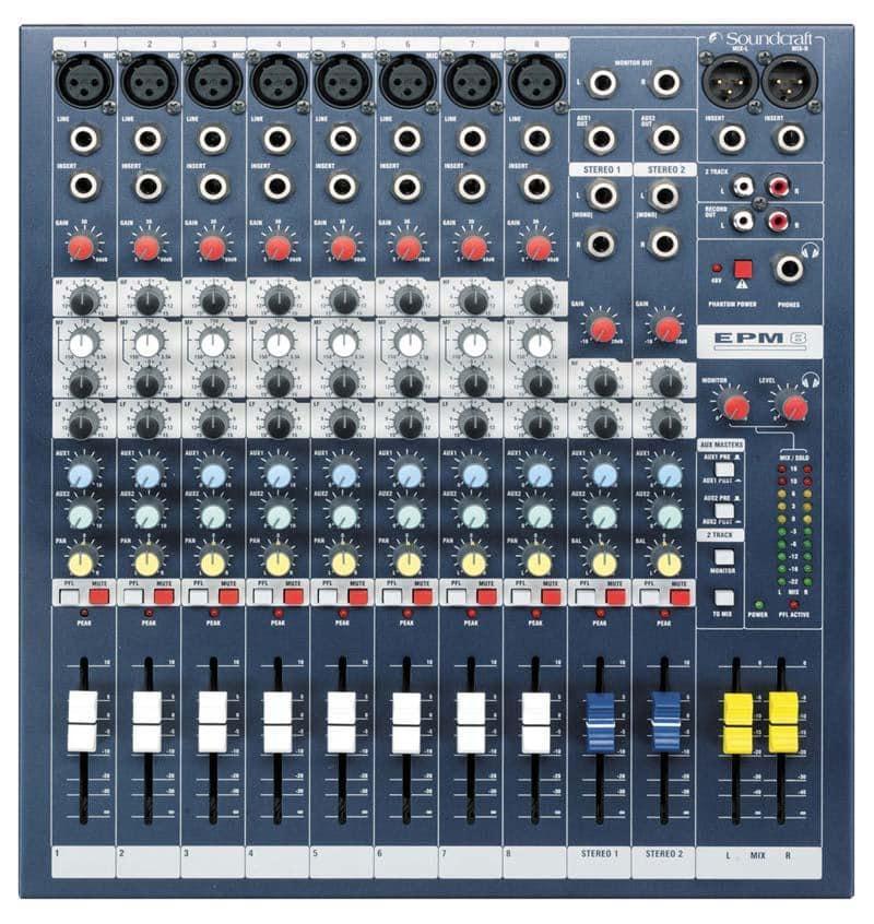Mischpulte - Soundcraft EPM8 - Onlineshop Musikhaus Kirstein