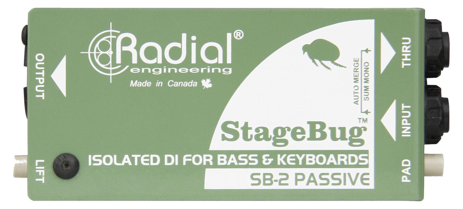 Diboxen - Radial Engineering StageBug SB 2 - Onlineshop Musikhaus Kirstein