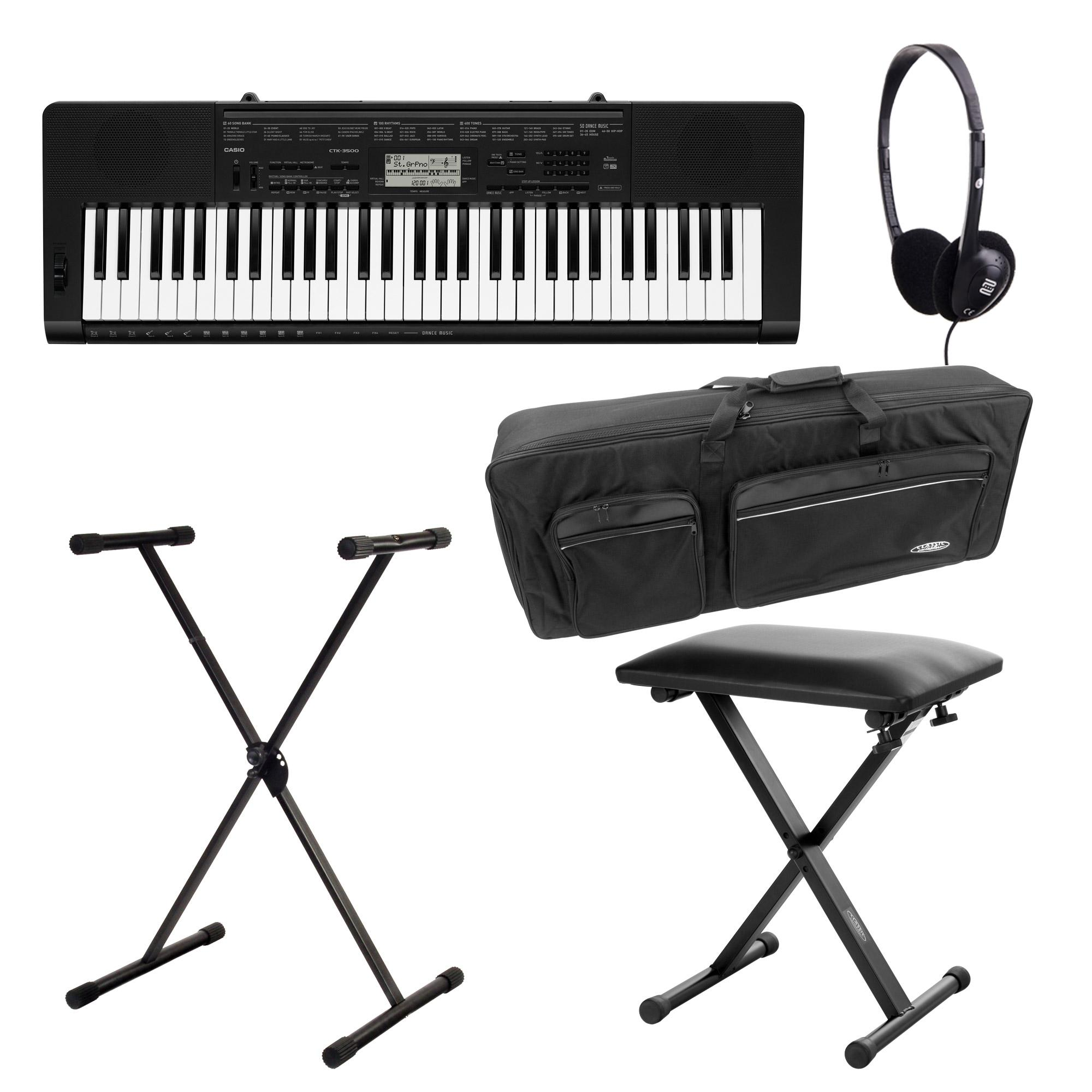 Casio CTK 3500 Keyboard Deluxe Set