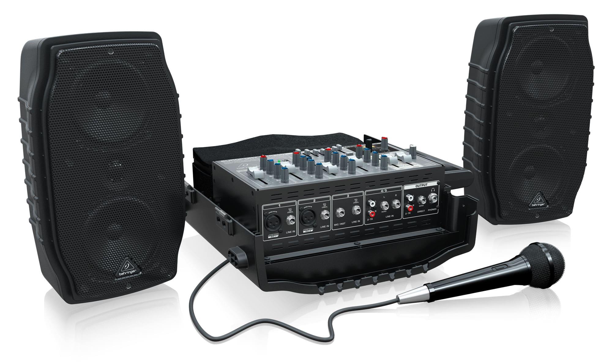 Boxenkomplettanlagen - Behringer PPA200 Kompakt PA System - Onlineshop Musikhaus Kirstein