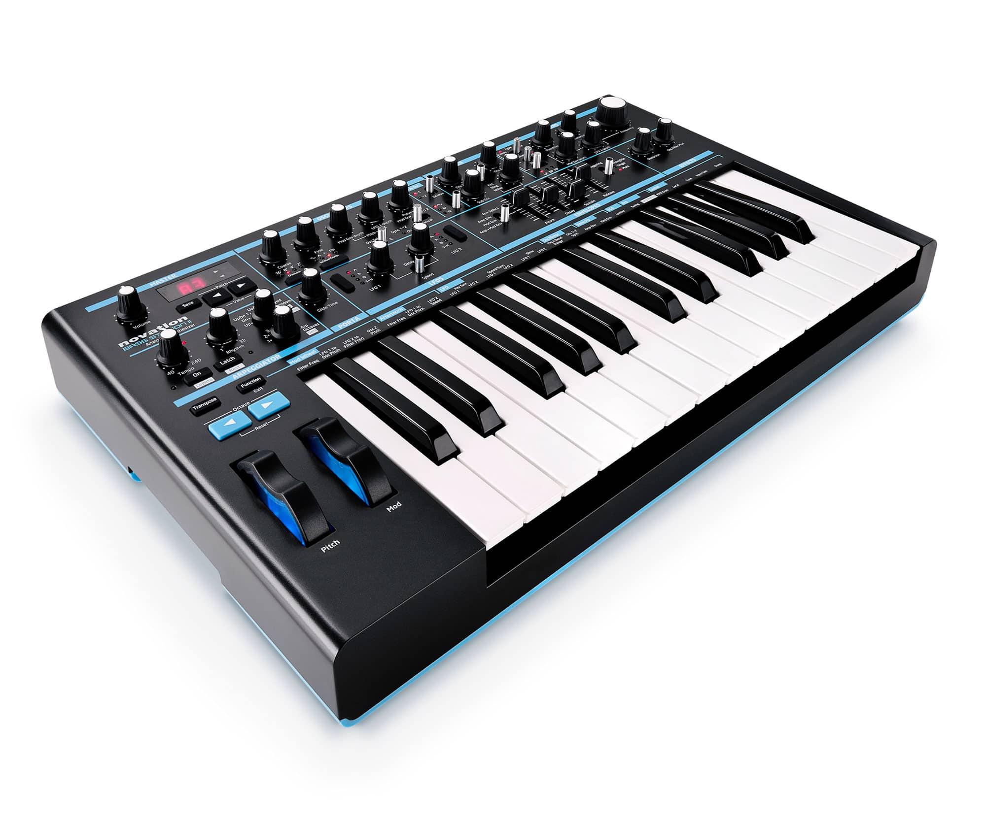 Synthesizer - Novation Bass Station II - Onlineshop Musikhaus Kirstein