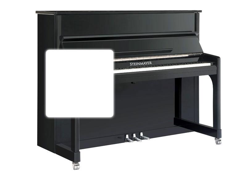 Steinmayer UP 120-M Klavier Weiß Hochglanz