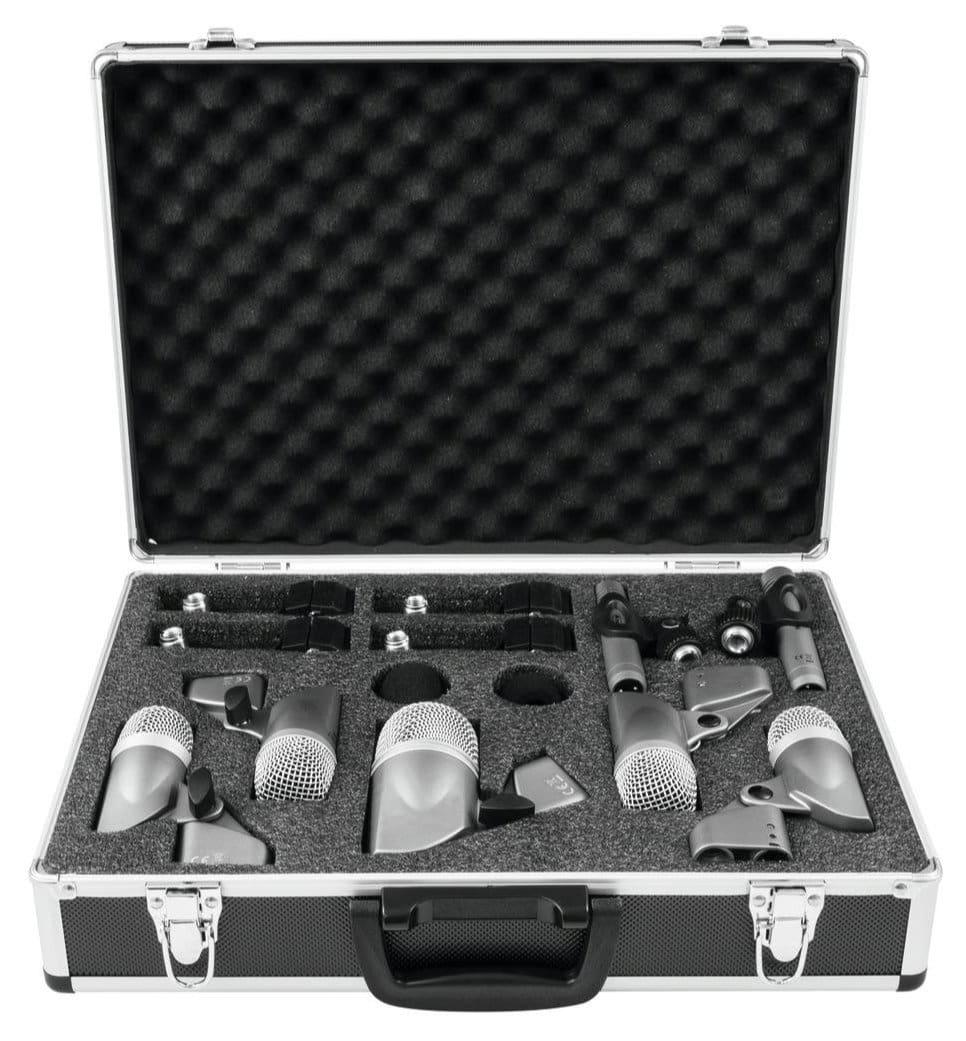 Mikrofone - Omnitronic MIC 77 7LMH Schlagzeug Mikrofonset - Onlineshop Musikhaus Kirstein