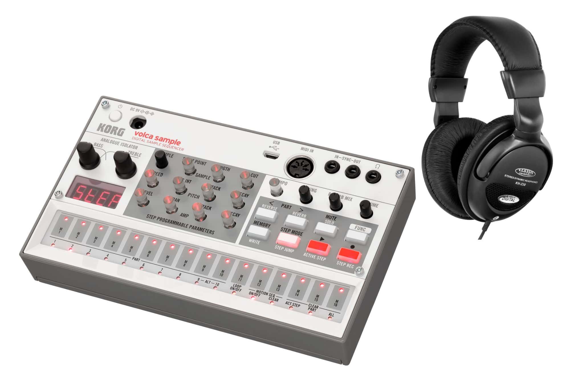 Synthesizer - Korg Volca Sample 2 Set - Onlineshop Musikhaus Kirstein