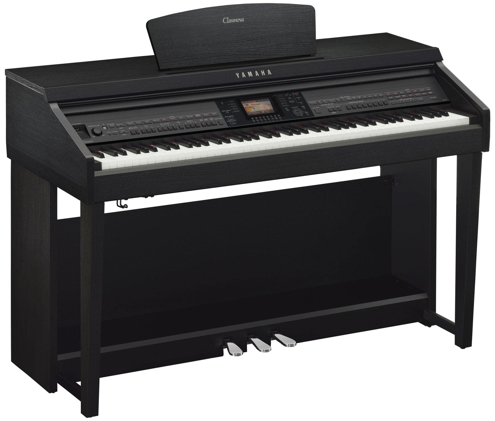 Yamaha CVP 701 B Clavinova Digitalpiano Schwarz Matt
