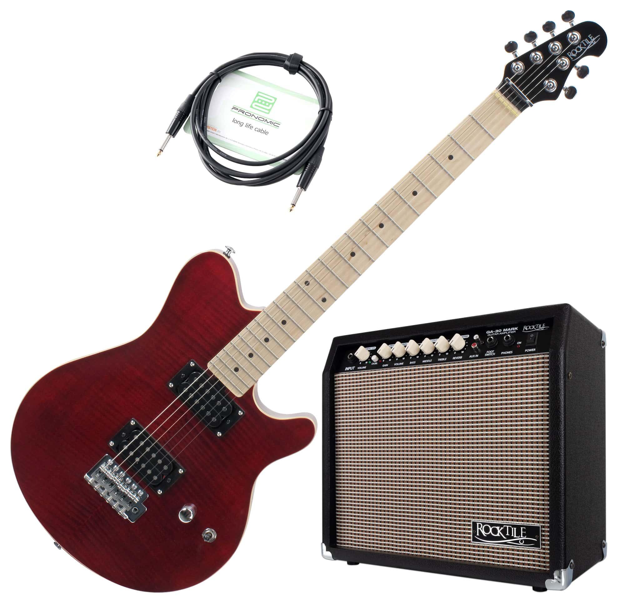 Egitarren - Rocktile Pro MM150 TR E Gitarre Verstärker Set - Onlineshop Musikhaus Kirstein