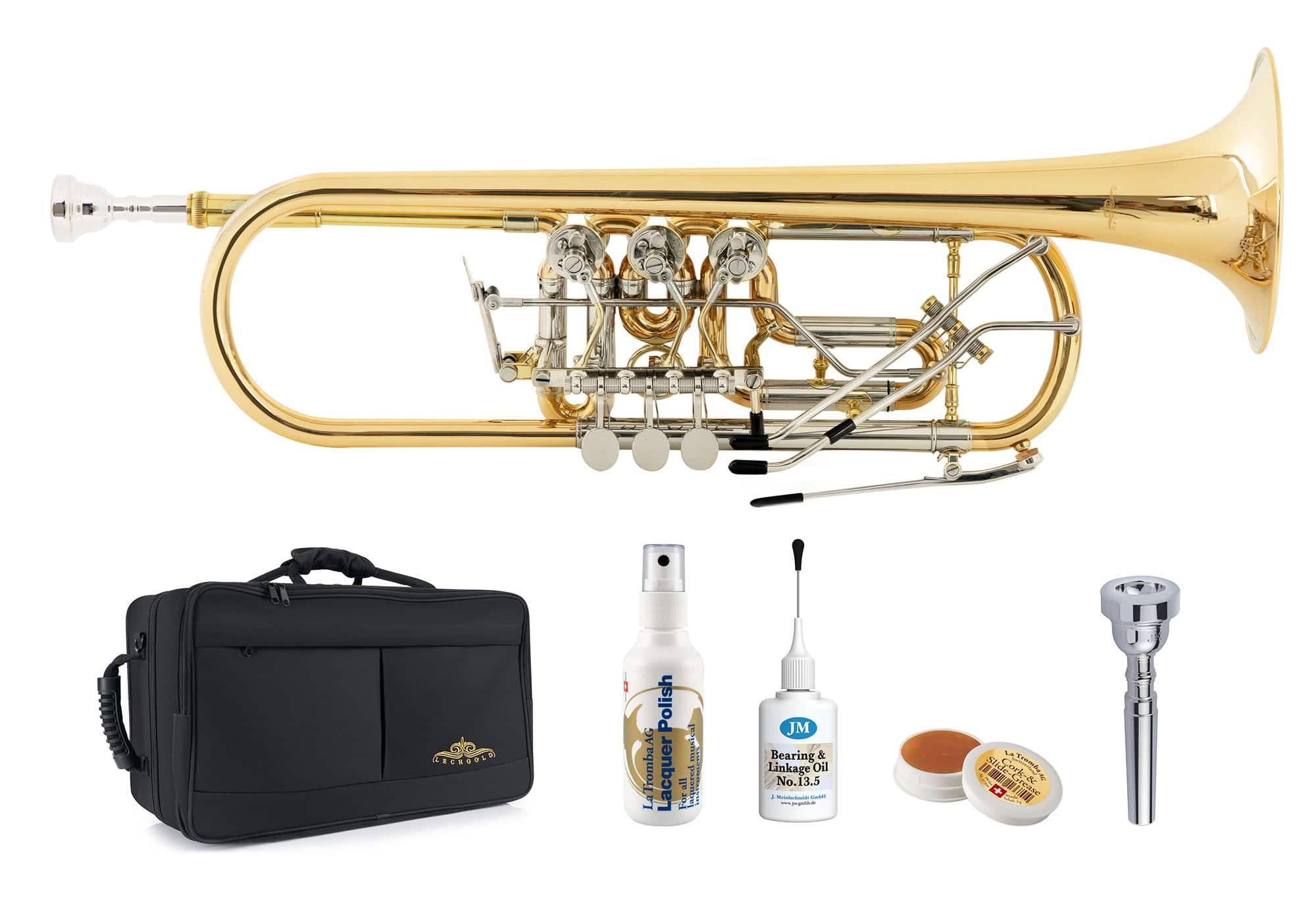 Trompeten - Lechgold BTR 19L Bb Konzerttrompete Deluxe Set - Onlineshop Musikhaus Kirstein
