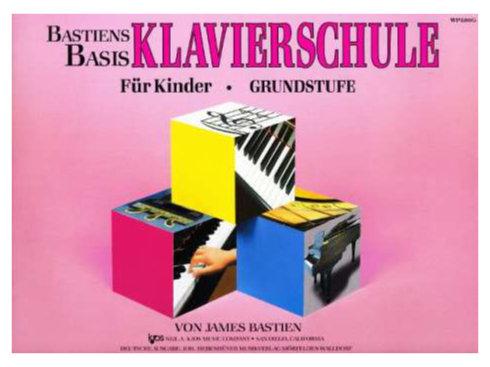 Klavierlernen - Bastien Piano Basics Klavierschule Grundstufe - Onlineshop Musikhaus Kirstein