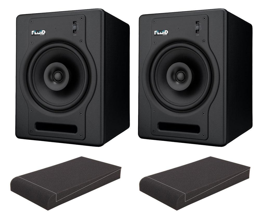 Fluid Audio FX8 Aktiv Studiomonitor ISO Set
