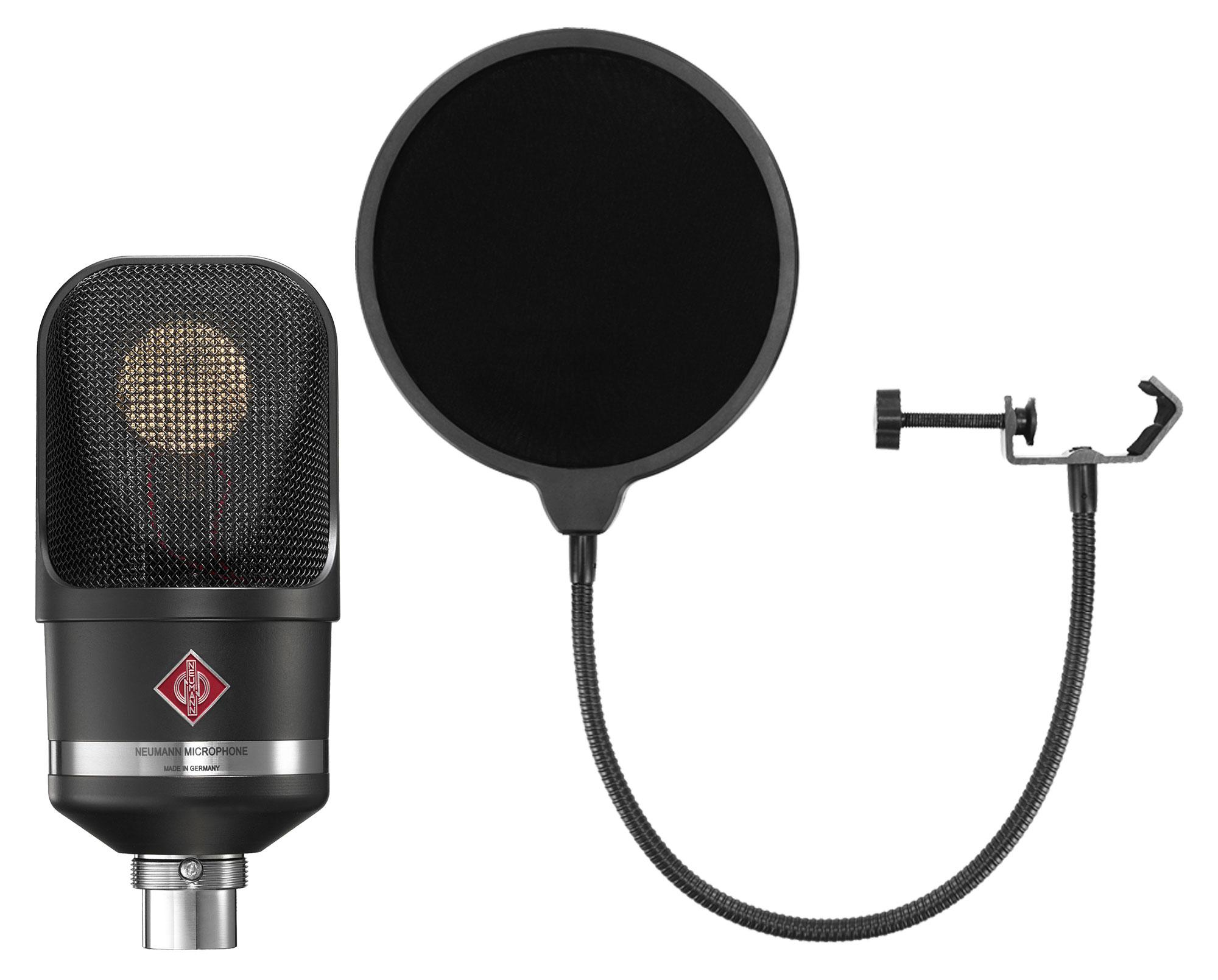Mikrofone - Neumann TLM 107 BK Set inkl. Popkiller - Onlineshop Musikhaus Kirstein