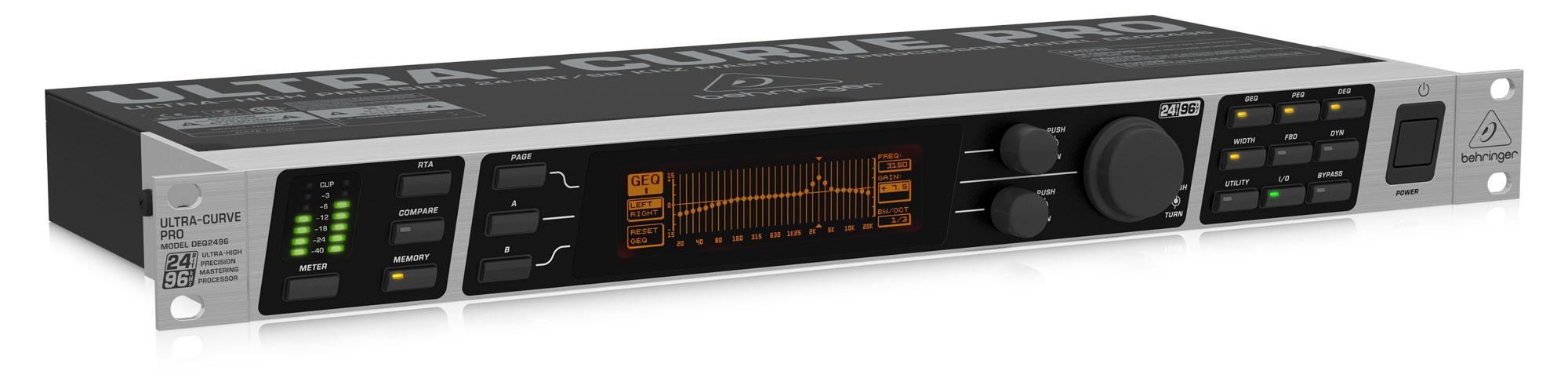 Studioeffekte - Behringer Ultracurve Pro DEQ2496 - Onlineshop Musikhaus Kirstein