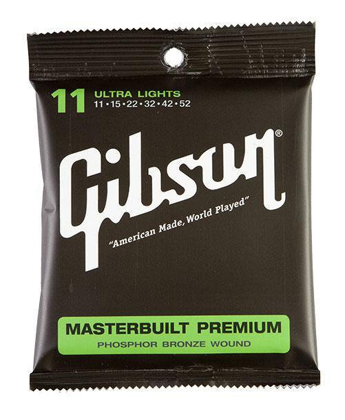 Gibson Masterbuilt Premium Phosphor Bronze Ultra Light