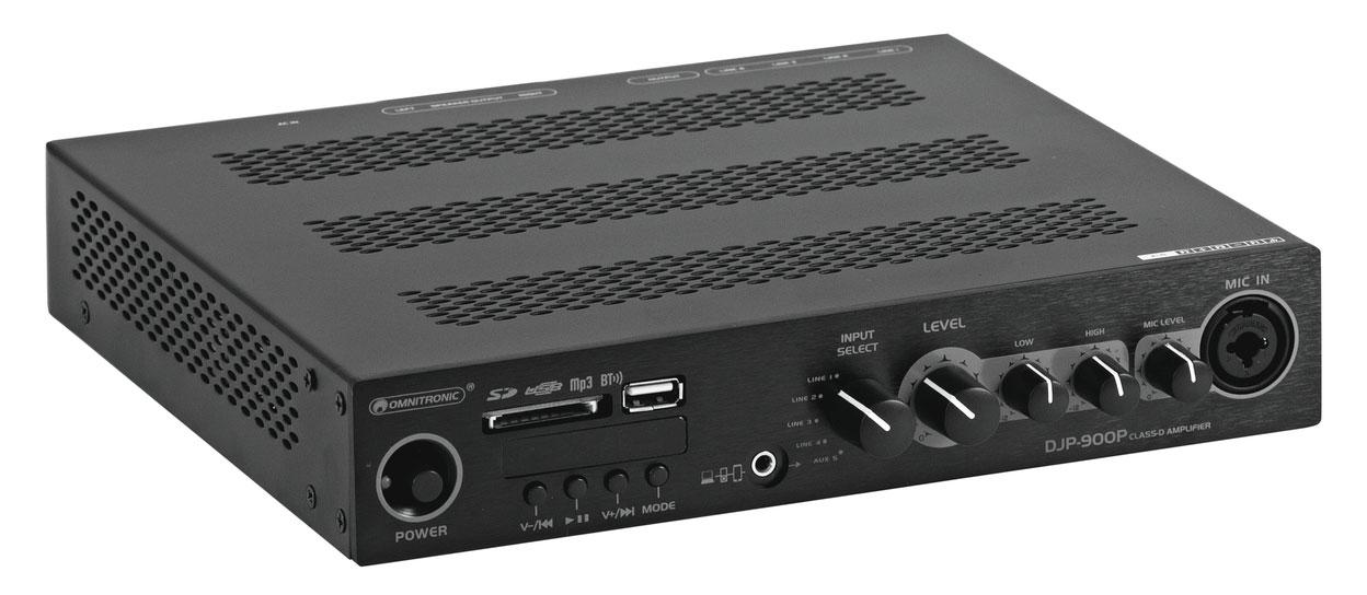 Paendstufen - Omnitronic DJP 900P Class D Verstärker Retoure (Zustand sehr gut) - Onlineshop Musikhaus Kirstein