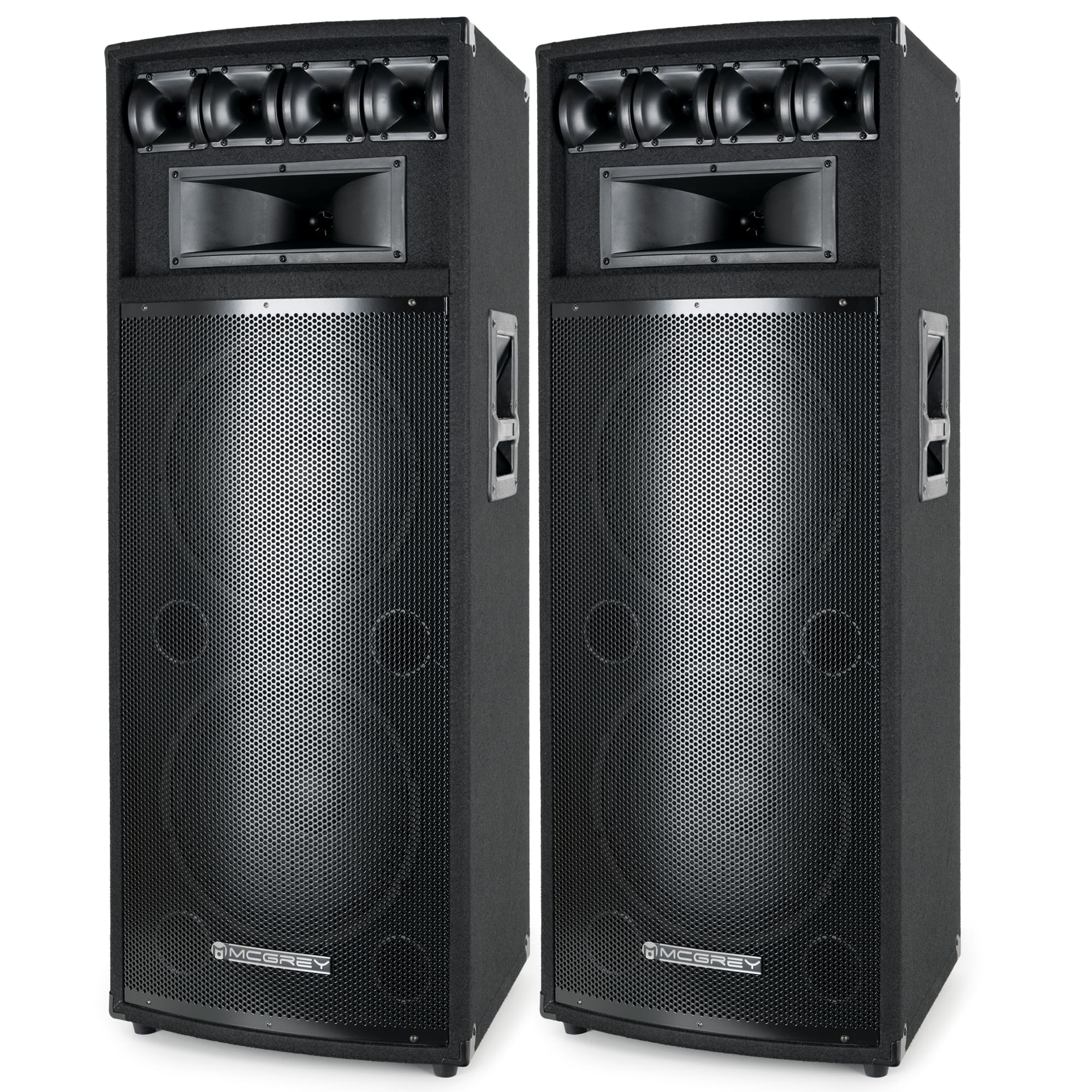 2x enceinte dj pa haut parleur 12 30cm sono disco caisson de basses 1600w ebay. Black Bedroom Furniture Sets. Home Design Ideas