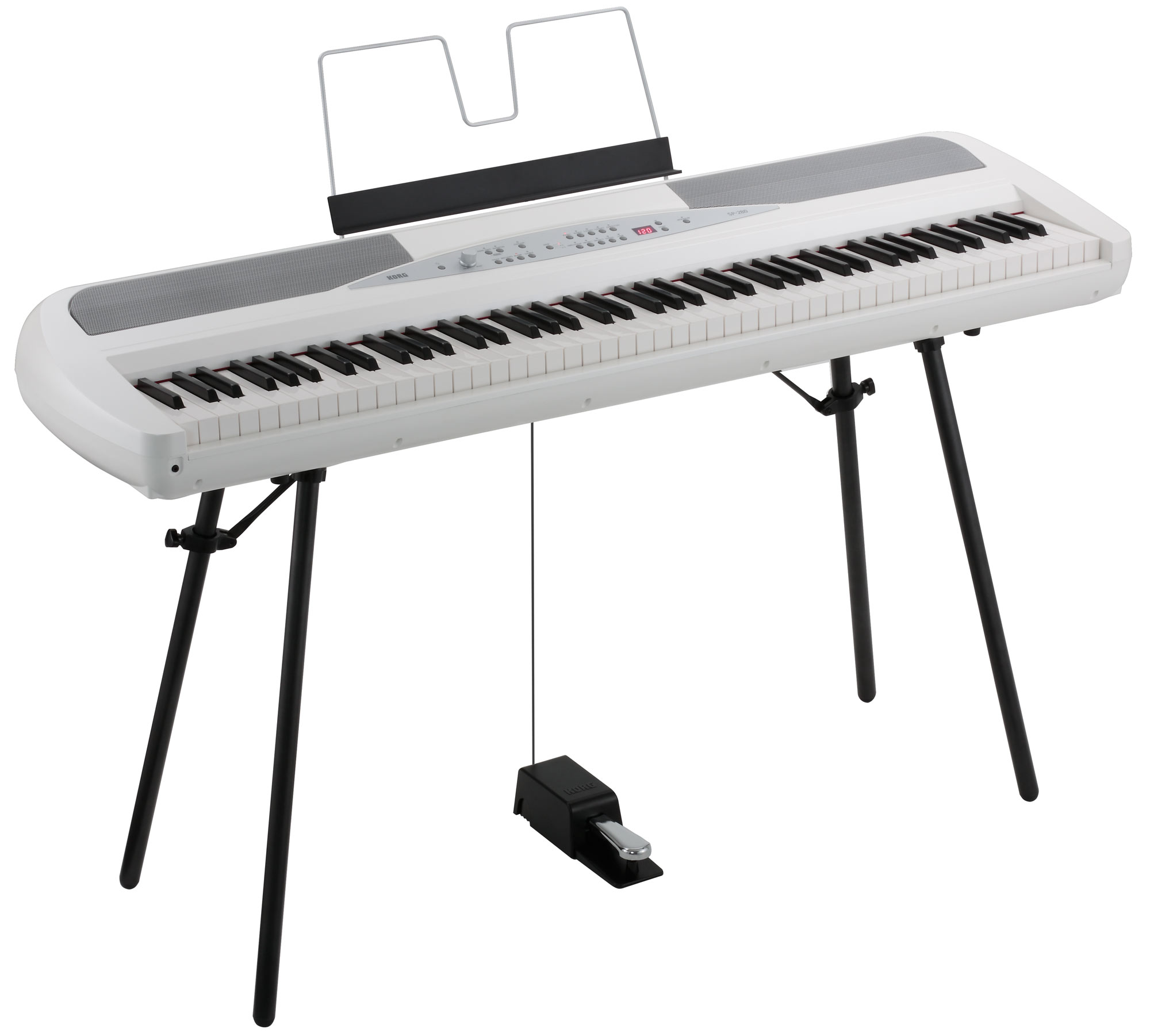 Korg SP 280 WH Portable Piano Weiß