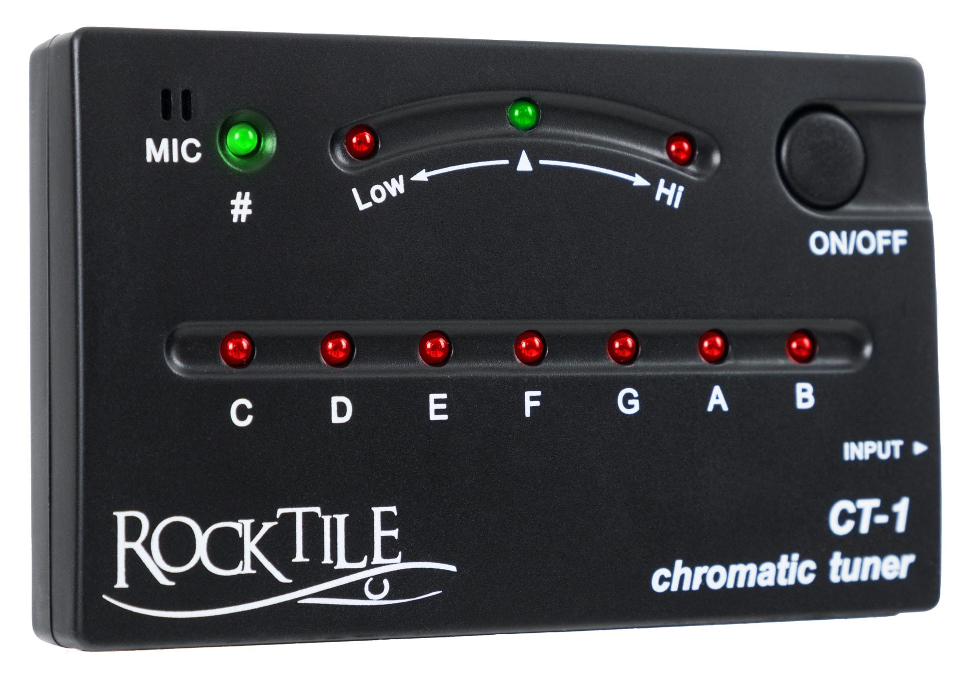Rocktile CT 1 Chromatisches Stimmgerät