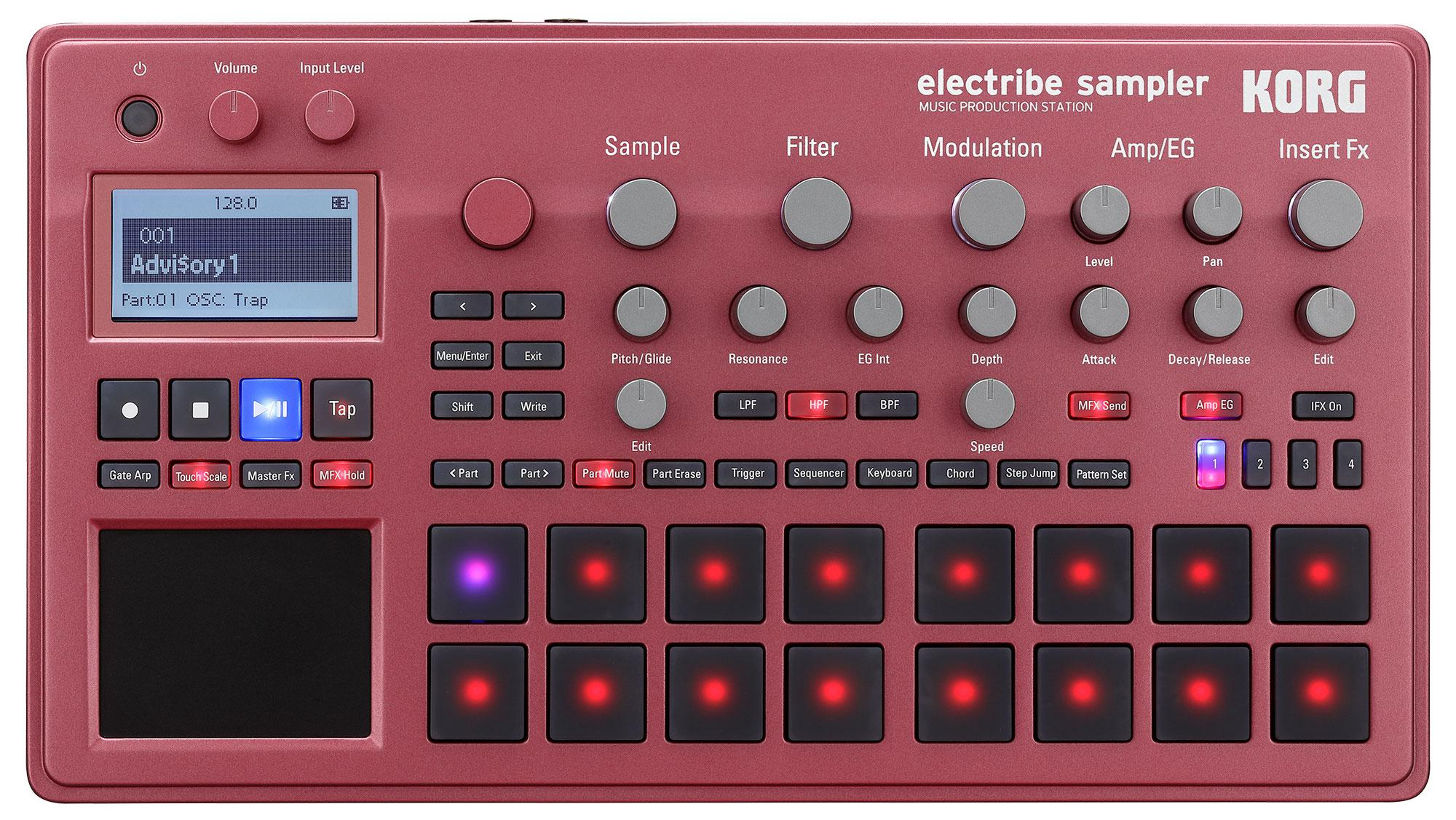 Synthesizer - Korg electribe Sampler 2 rot - Onlineshop Musikhaus Kirstein