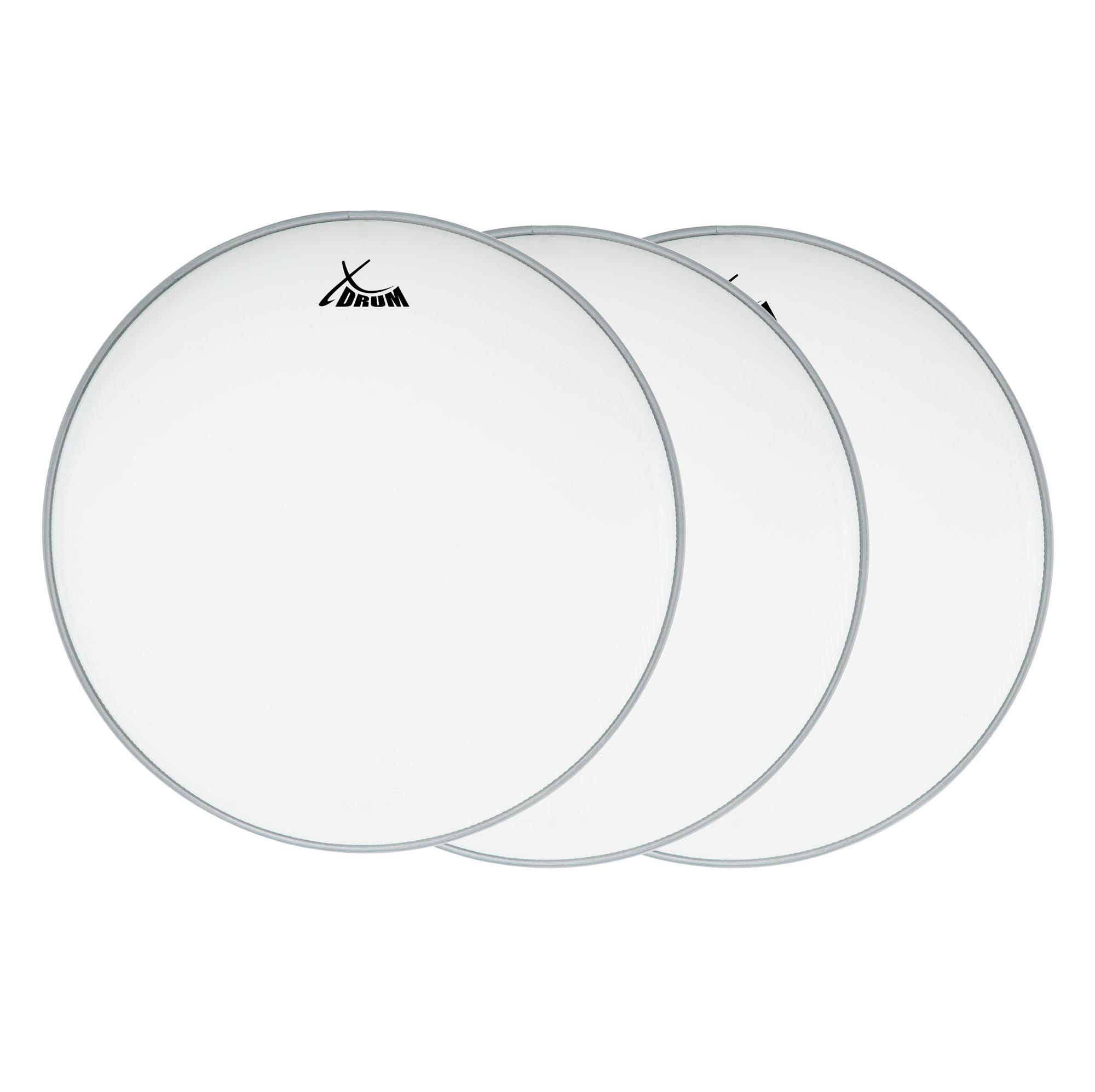 XDrum Coated Snare Drumfell 14' 3er Pack